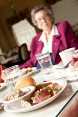 Senioren sind oft mangelernährt