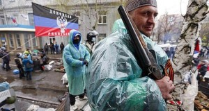 Separatisten in der Ostukraine.