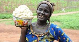 Sheabutter ist eine Hautcreme aus Afrika.