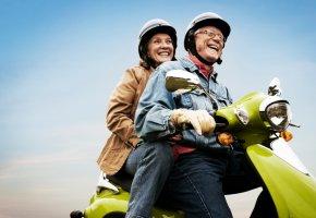Sicherheit geht vor! Unterwegs mit dem Motorroller