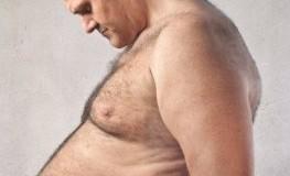 Sind die Gene schuld? Dieser Mann leidet unter seiner Fettleibigkeit (Adipositas).