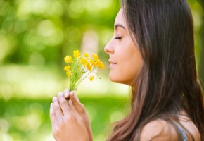Sinnesorgan - der Geruchssinn beim Menschen