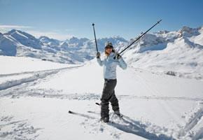 Skifahren in Arlberg