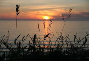 Sonnenuntergang in Jurkalne