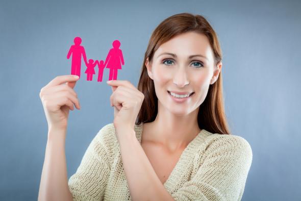 Eine Mutterschaft bei einer Frau ab 35 Jahre - kann eine Risiikoschwangerschaft sein.