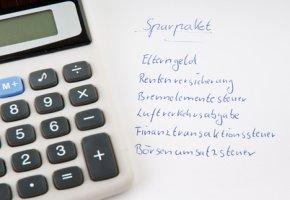 Sparpaket: Die Finanztransaktionssteuer
