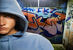 Sprayer Graffiti Kunst