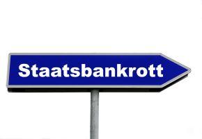 Staatsbankrott - Wann ist ein Staat pleite?