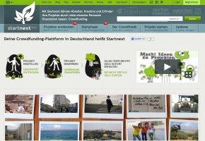Startnext das Portal für kreative Projektfinanzierung