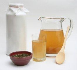 Startpaket Kombuchapilz Tee und Karaffe