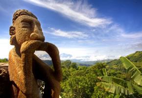 Statue in Costa Rica