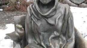 Statue von Astrid Lindgren in Stockholm