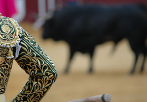Stierkampf in Barcelona