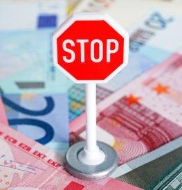Stop bei der Auktionsabwicklung