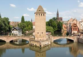 Straßburg und Henry Turm
