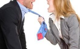 Streit unter Mitarbeitern im Büro