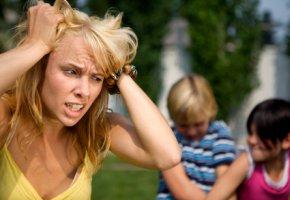Stress - die Kinder der Nachbarn machen krach