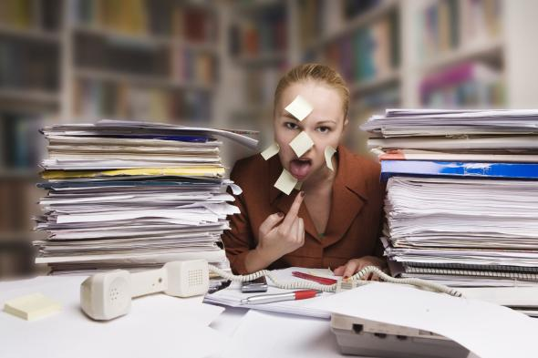 Stress macht den Körper krank.