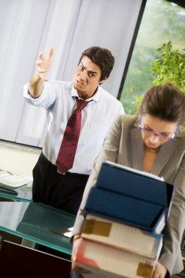 Stress mit dem Chef