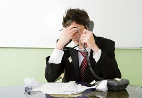 Stress im Büro