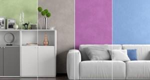 Mit Strukturputz bzw. Dekorputz kann man seine Wände kreativ gestalten.