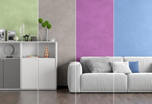 strukturputz kreative wandgestaltung mit dekorputz. Black Bedroom Furniture Sets. Home Design Ideas