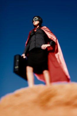 Superhero Women - Frauenquote bei der Bewerbung