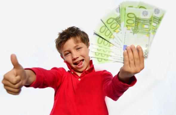 Mit Taschengeld kann man Kinder an den Umgang mit Geld gewöhnen.