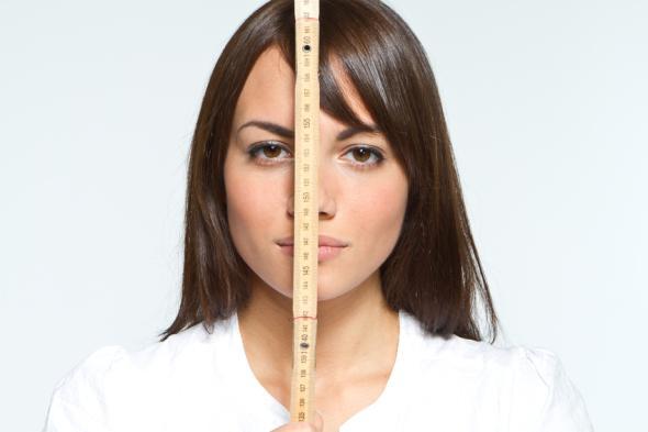 Großen Frauen haben ein Thrombose Risiko.
