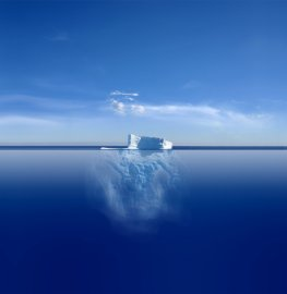 Trinkwasser aus dem Eisberg gewinnen