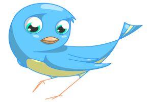 Der Twitter Vogel zwitschert