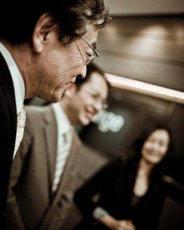 Überarbeitung: Meetings und Besprechungen in Japan