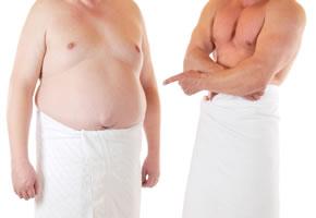 Übergewicht und Bauchfett