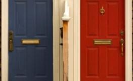 Umfrage: Menschen mit einer roten Haustüre sind am glücklichsten
