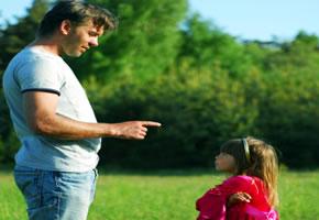 Disziplinierung durch den Vater