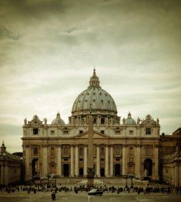 Vatikanstadt der Petersdom - Basilika