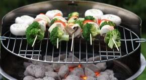 Vegan grillen: Gemüse auf dem Grill