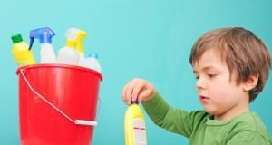 Vergiftungen bei Kindern kommen häufiger vor.