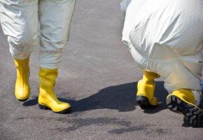 Verstrahlte Arbeiter in Fukushima
