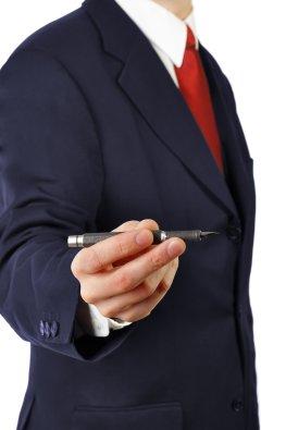 Vertriebsdruck: den Kunden zur Unterschrift drängen