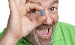 Einnahme von Viagra bei Erektionsstörungen