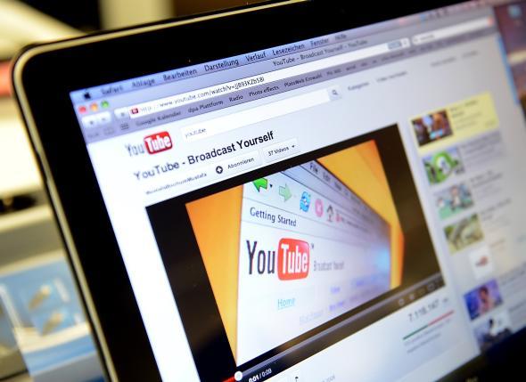 Youtube auf einem Apple iPad