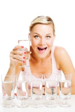 Viel trinken senkt das Rückfallrisiko auf einen Schlaganfall