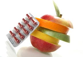 Vitamine, Pillen versus Obst