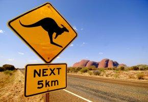 Vorsicht Kängurus: Route durch Australien