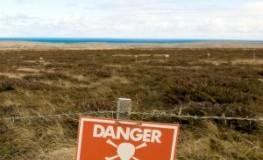 Vorsicht Landminen - Eine Gefahr für Leib und Leben