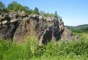 Vulkangarten Steffeln in der Eifel