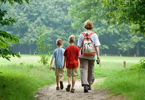Wandern, trainieren Sie Herz und Kreislauf