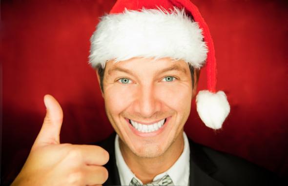 Weihnachtswünsche von Männern sind unterschiedlich.