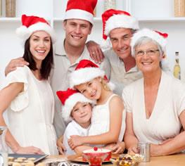 Weihnachten Backen mit den Kindern